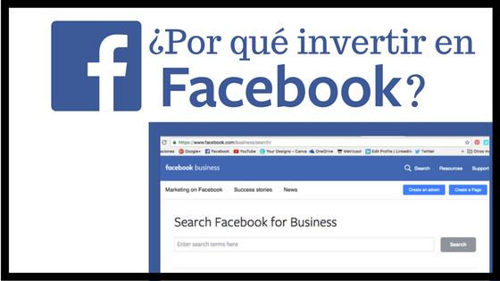 ¿Por qué invertir en FacebookAds?