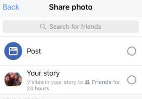 historias de facebook
