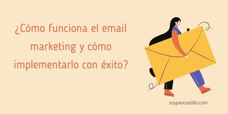 email marketing como funciona
